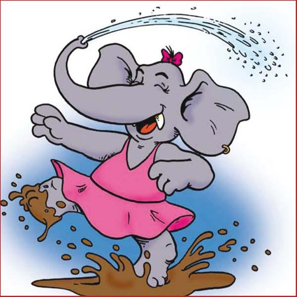 Elly die Elefantendame - Genaues Hören