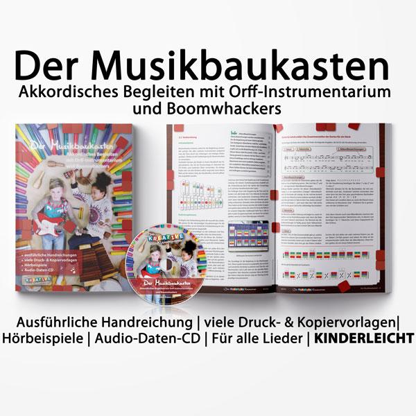 Der Musikbaukasten (Broschüre + Audio-Daten-CD)