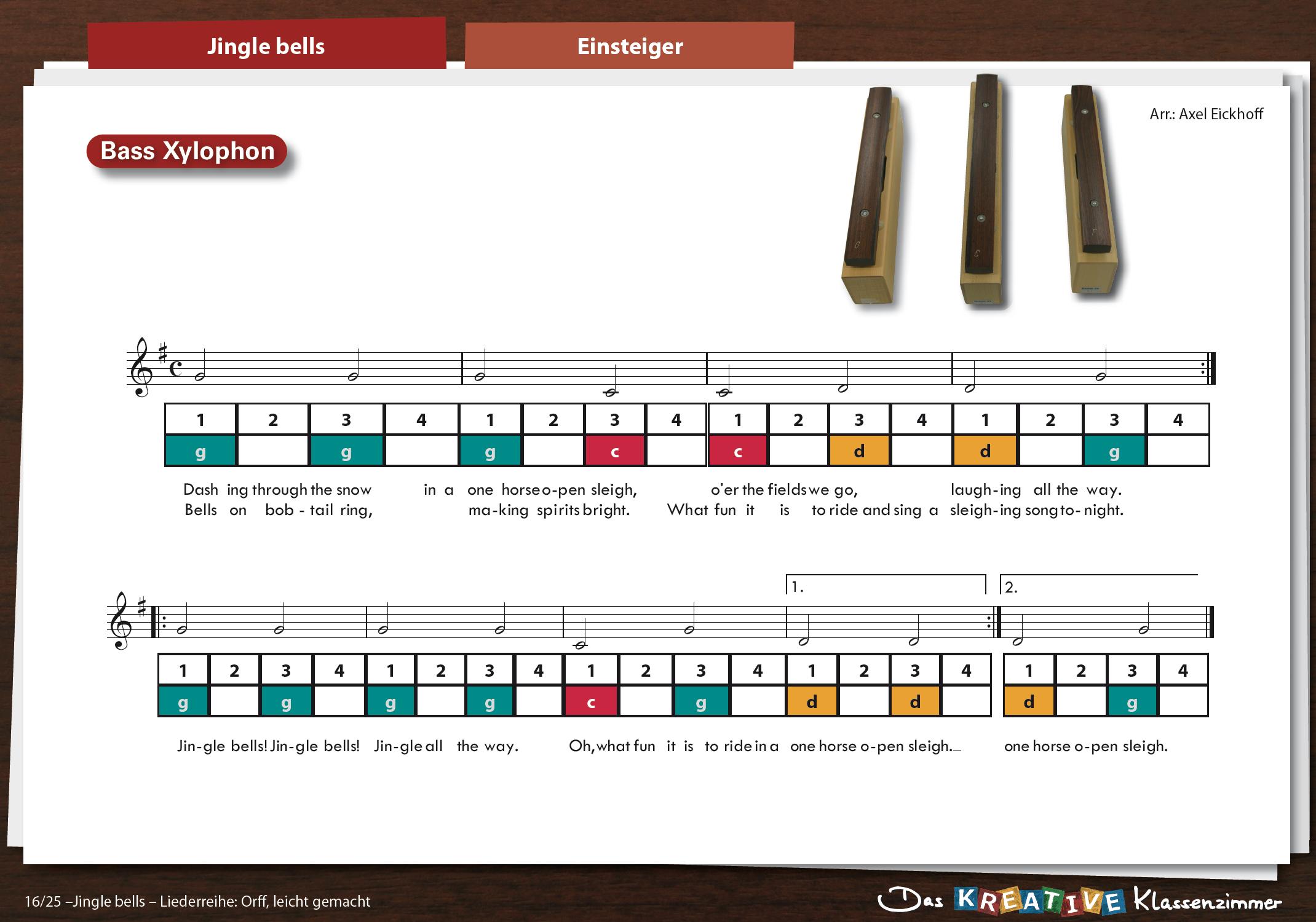 Jingle bells - Klassenmusizieren