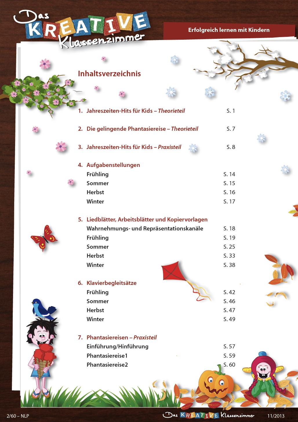 Jahreszeiten-Hits für Kids (CD mit 60 Seiten digitalem Material)