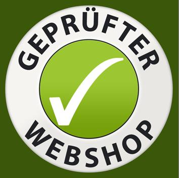 Wir sind ein geprüfter Webshop.