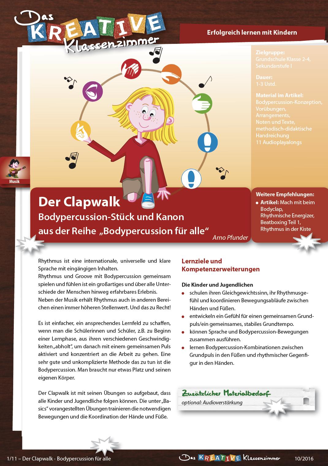 Der Clapwalk | Bodypercussion