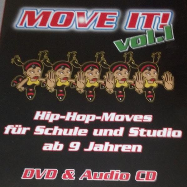 Move it! - HipHop- Moves für die Schule (DVD)