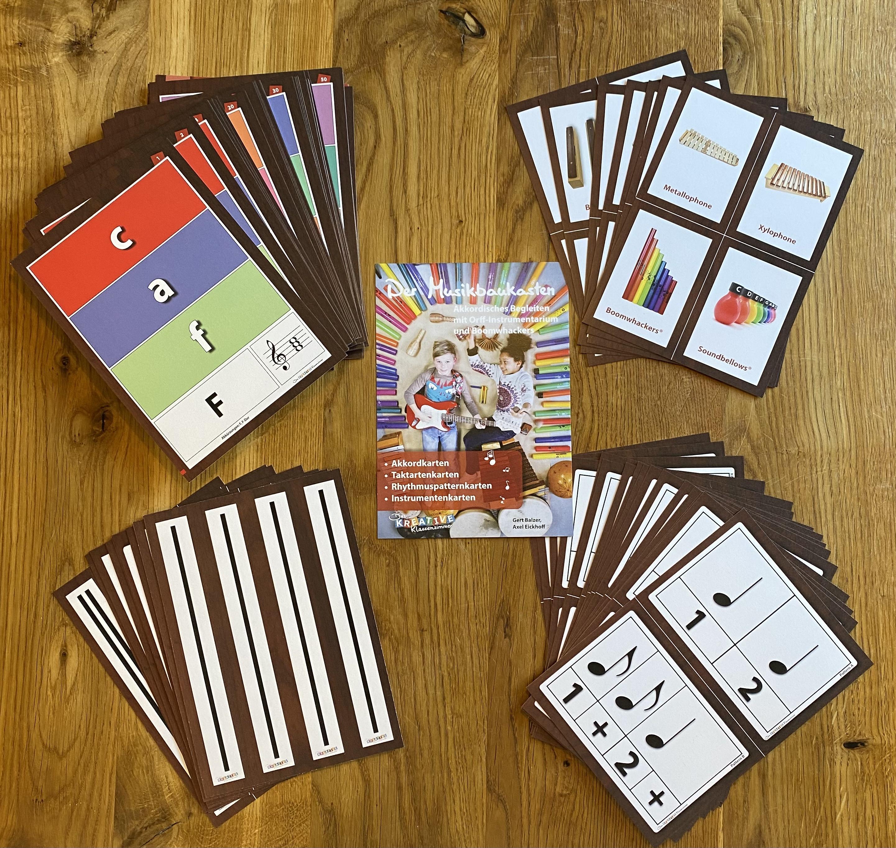 Kartenpaket zum Musikbaukasten