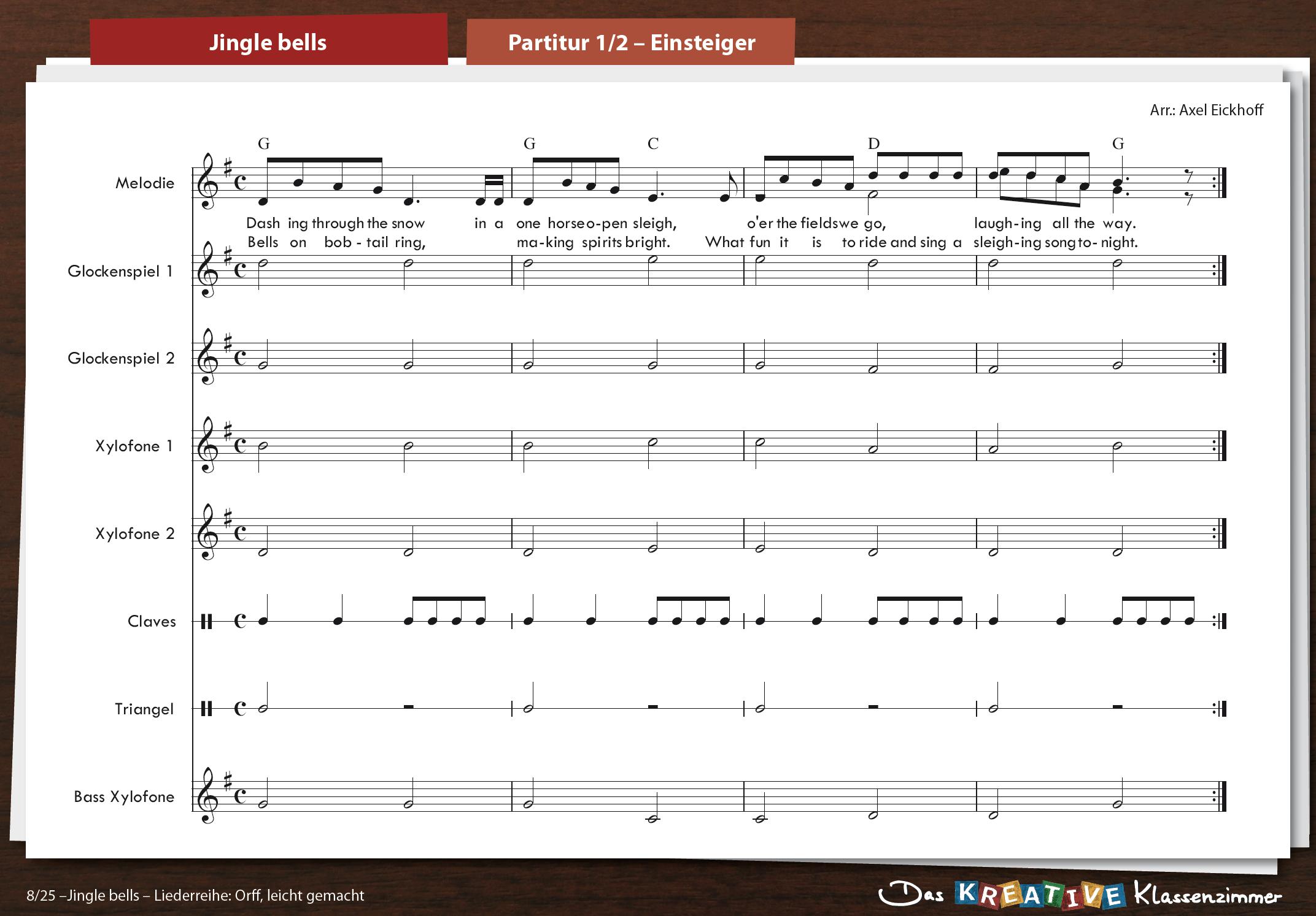 Jingle bells - Orff