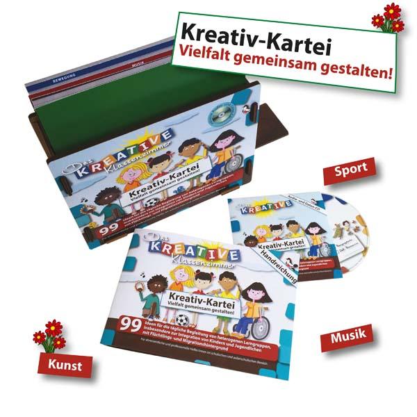 Kreativ-Kartei - Vielfalt gemeinsam gestalten!