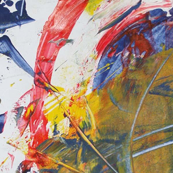 Actionpainting - Ausdrucksstarke Malerei