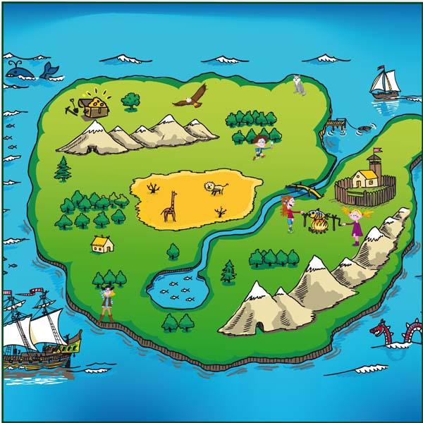 Klangbild 3 - Abenteuerinsel - Hören