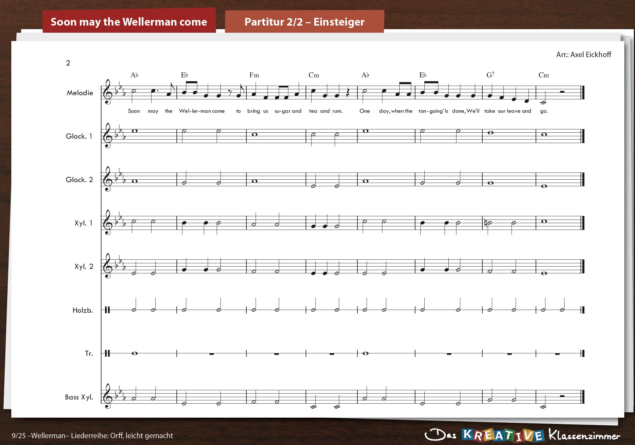 Wellerman (Soon may the Wellerman come) - Orff
