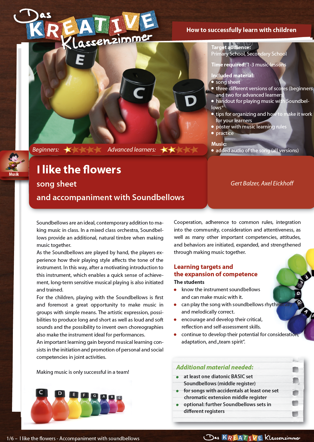 I like the flowers - Soundbellows - English version