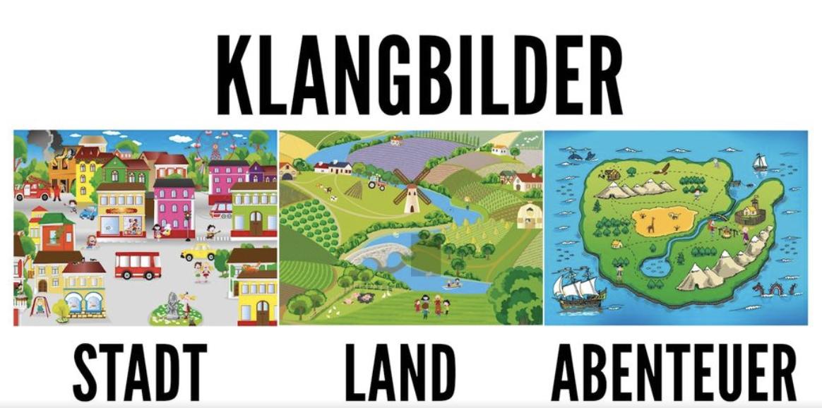 Klangbildpaket (Land, Stadt, Abenteuerinsel)
