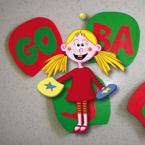 GOBA-Schläger - selber bauen und spielen