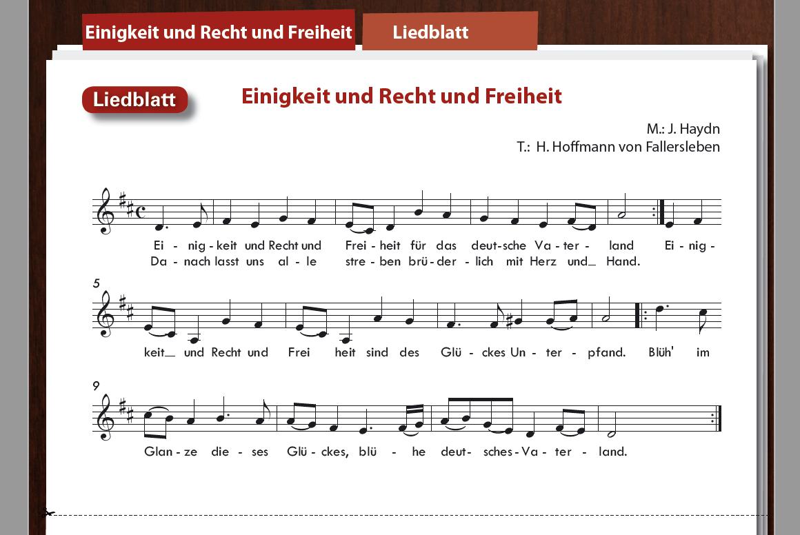 Einigkeit und Recht und Freiheit - Deutsche Nationalhymne - Boomwhackers
