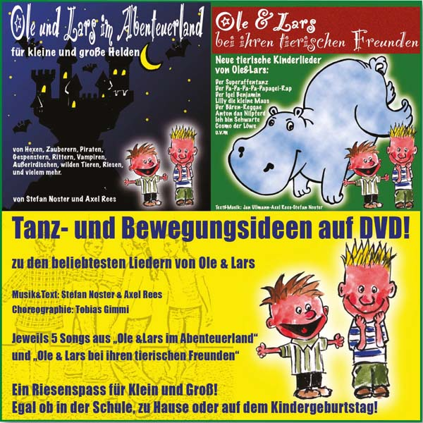 Ole und Lars | Tanz- und Bewegungsideen (DVD)
